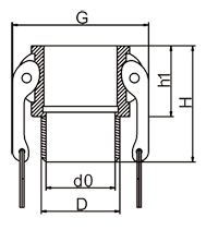 Male Coupler Drawing
